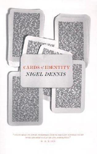 9781564783196: Cards of Identity (British Literature)