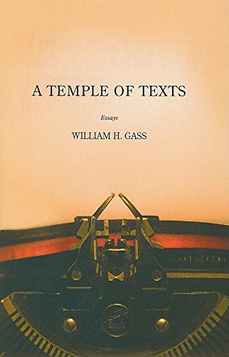 9781564784681: TEMPLE OF TEXTS, A (American Literature Series)