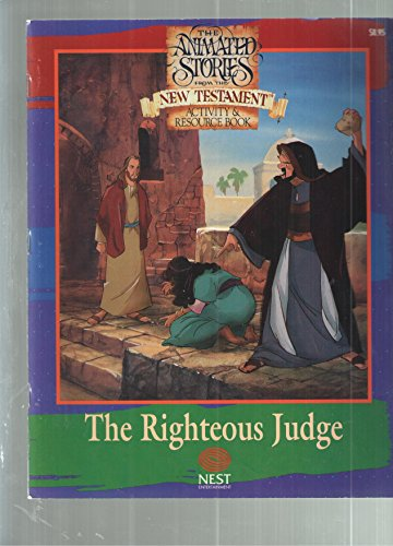 The Righteous Judge - Activity Book (The Animated Stories from the New Testament): Amy Binder