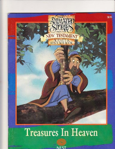 9781564891693: The Animated Stories From the New Testament Coloring & Activity Book (Treasures In Heaven, Series 2)