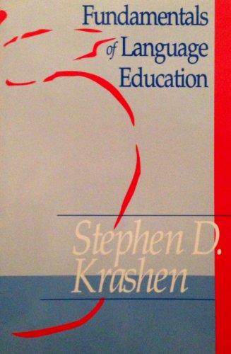 9781564920881: Fundamentals of Language Education