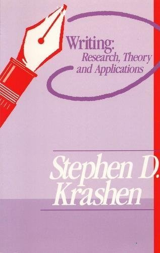 9781564920904: Writing--Research, Theory, and Applications