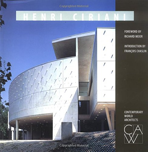 9781564962348: Henri Ciriani (Contemporary World Architects)