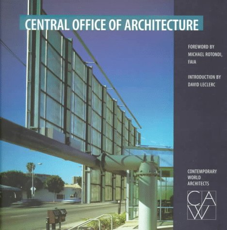 9781564964076: Central Office of Architecture (Contemporary World Architects)