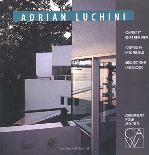 9781564965035: Adrian Luchini (Contemporary World Architects)