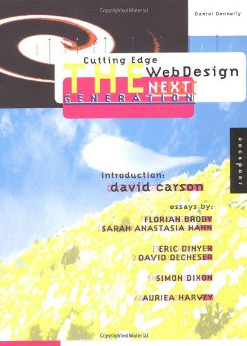 9781564968838: Cutting Edge Web Design: The Next Generation