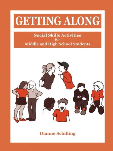 9781564990662: Getting Along: Social Skills Activities for Middle and High School Students
