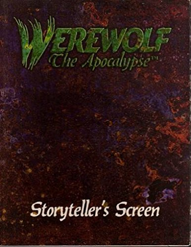 9781565040359: Storyteller's Screen (Werewolf: The Apocalypse, 1st Edition)