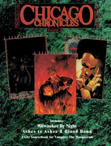 *OP Chicago Chronicles 3 (Vampire: The Masquerade Novels) (1565042212) by Hagen, Mark; Cliffe, Ken; Wieck, Stewart