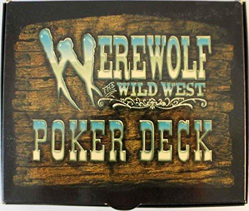 Werewolf Poker Deck: The Wild West