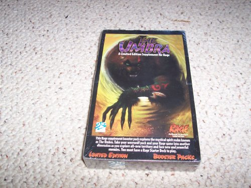 The Umbra Limited Edition: Booster Pack Retail Display Box 24 Booster Packs (Rage): Mike Tinney