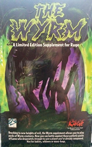 The Wyrm Limited Edition: Booster Pack Retail Display Box 24 Booster Packs (Rage): Mike Tinney