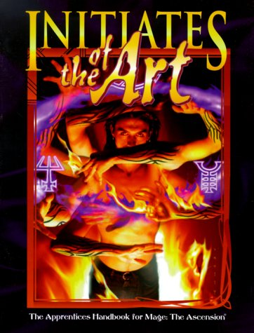 Initiates of the Art: The Apprentices Handbook for Mage: The Ascension (9781565044371) by Davis, Lynn; Woodcock, Lindsay