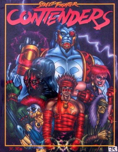 Contenders (Street Fighter): James Estes