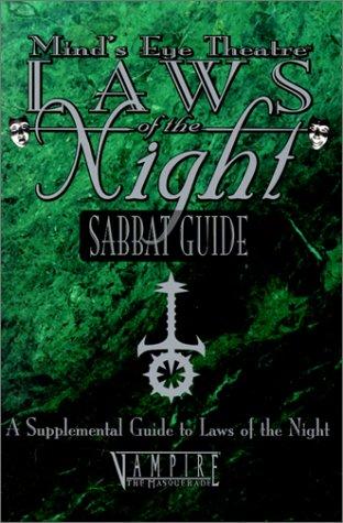OP MET Sabbat Guide (Mind's Eye Theatre): Soesbee, Ree, Oliver,