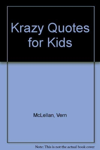 9781565070707: Krazy Quotes for Kids