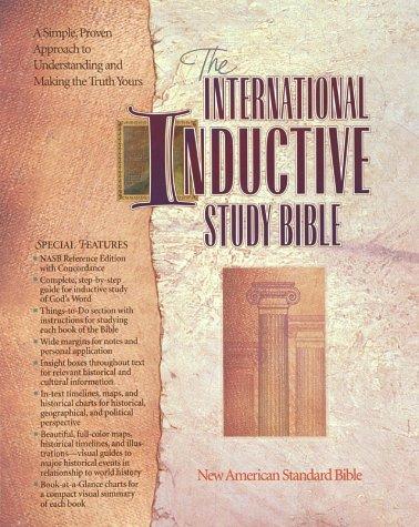 International Inductive Study Bible: New American Standard