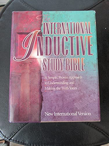 The International Inductive Study Bible: New International Version