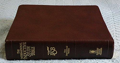 The International Inductive Study Bible.: NEW INTERNATIONAL VERSION.