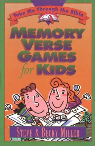 9781565076211: Memory Verse Games for Kids (Take Me Through the Bible)