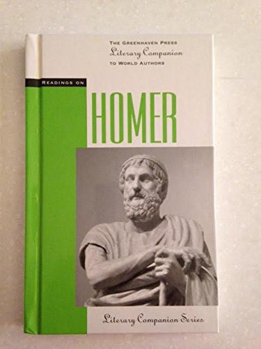 9781565106390: Readings on Homer (The Greenhaven Press Literary Companion to World Authors)