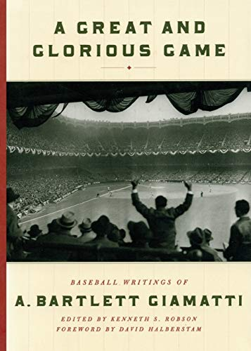A Great and Glorious Game: Baseball Writings: Kenneth S. Robson