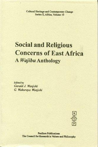 9781565182219: Social and Religious Concerns of East Africa: A Wajibu Anthology (Cultural Heritage and Contemporary Change)
