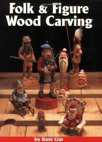 9781565231054: Folk and Figure Woodcarving