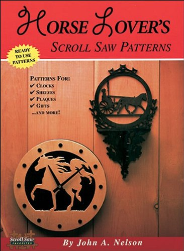 9781565231092: Horse Lovers Scroll Saw Projects