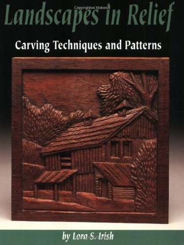 Landscapes in relief carving techniques and patterns by
