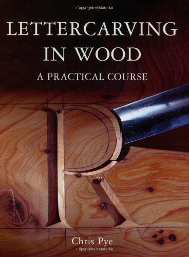 9781565232105: Lettercarving in Wood: A Practical Course