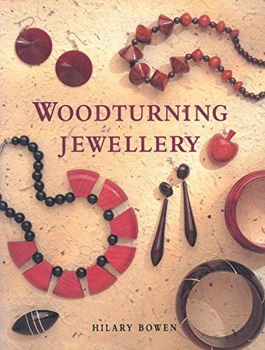 Woodturning Jewelry 9781565232785 A practical guide to the fascinating craft of turning jewelry. Includes 12 step-by-step projects including earrings, rings, necklaces, a
