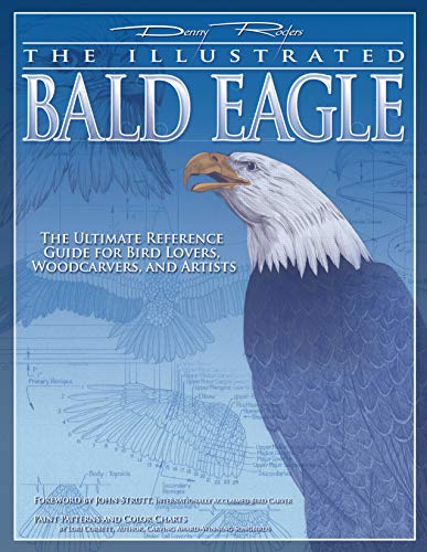Illustrated Bald Eagle: The Ultimate Reference Guide for Bird Lovers, Woodcarvers, and Artists Detailed Drawings & Measurements