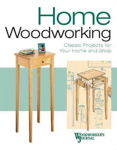Home Woodworking: Woodworker's Journal