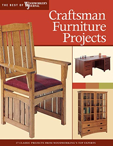 Craftsman Furniture Projects (Best of WWJ): Timeless Designs and Trusted Techniques from Woodwork...