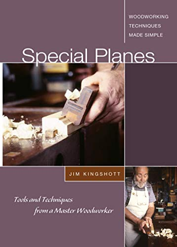 9781565233515: Special Planes - DVD: Tools and Techniques from a Master Woodworker [Alemania]