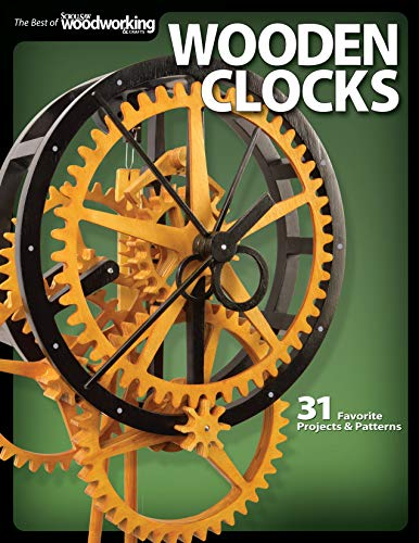 9781565234277: Wooden Clocks: 31 Favorite Projects & Patterns (Scroll Saw Woodworking & Crafts Book)