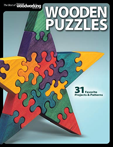 9781565234291: Wooden Puzzles: 31 Favorite Projects and Patterns (Scroll Saw Woodworking & Crafts Book)