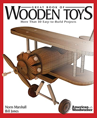 9781565234314: Great Book of Wooden Toys: More Than 50 Easy-to-build Projects (American Woodworker (Paperback))