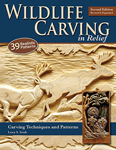 9781565234482: Wildlife Carving in Relief: Carving Techniques and Patterns