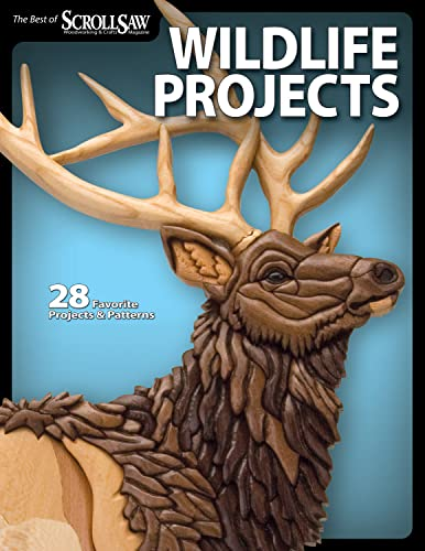 9781565235021: Wildlife Projects: 28 Favorite Projects & Patterns (Scroll Saw Woodworki)