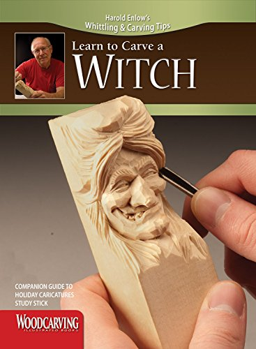 9781565235823: Holiday Caricatures Study Stick Kit (Learn to Carve Faces with Harold Enlow) (Harold Enlow's Whittling & Carving Tips)