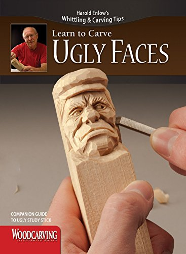 9781565235830: Ugly Faces Study Stick Kit(Learn to Carve Faces with Harold Enlow)