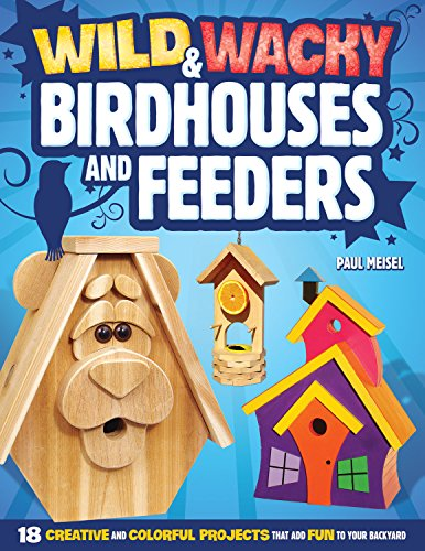 9781565236790: Wild & Wacky Birdhouses and Feeders: 18 Creative and Colorful Projects That Add Fun to Your Backyard