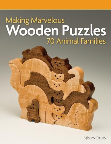 9781565236882: Making Marvelous Wooden Puzzles 70 Animal Families: 70 Animal Families
