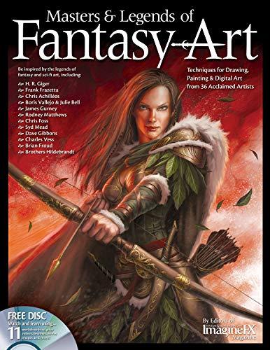 Masters & Legends of Fantasy Art: Techniques: Froud, Brian; Vallejo,