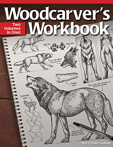 Woodcarver's Workbook: Two Volumes in One! (Fox Chapel Publishing) (9781565237469) by Guldan, Mary