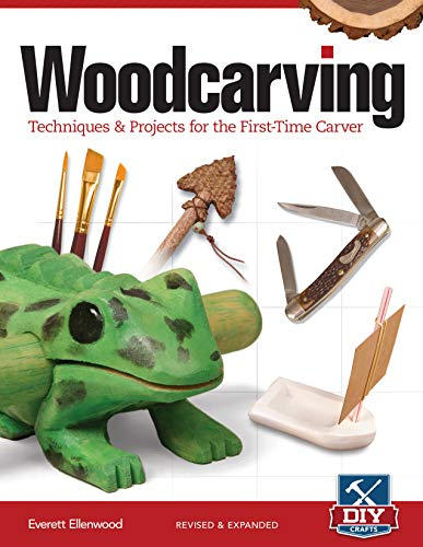 Woodcarving, Revised And Expanded: Techniques & Projects For The First Time Carver