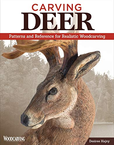 9781565238206: Carving Deer: Patterns and Reference for Realistic Woodcarving
