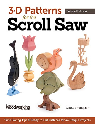 9781565238480: 3-D Patterns for the Scroll Saw: Time-Saving Tips & Ready-to-Cut Patterns for 44 Unique Projects